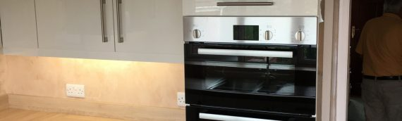 Bespoke kitchen, re-fit, re-skim, electrics, worktops
